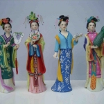 Huishan Clay Figurine – Painted Sculptures