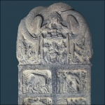 Nirvana Tablet: Buddhist Stone Carving of Tang Dynasty