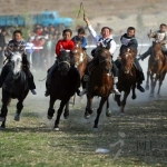 Horse Racing on the Two Strings of Erhu