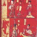 Lacquer Screen with Figure Story Paintings from Sima Jinlong Tomb
