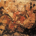 Riders on Horseback: A Wall Painting in the Tomb of Lou Rui